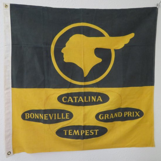 Pontiac Dealer Flag