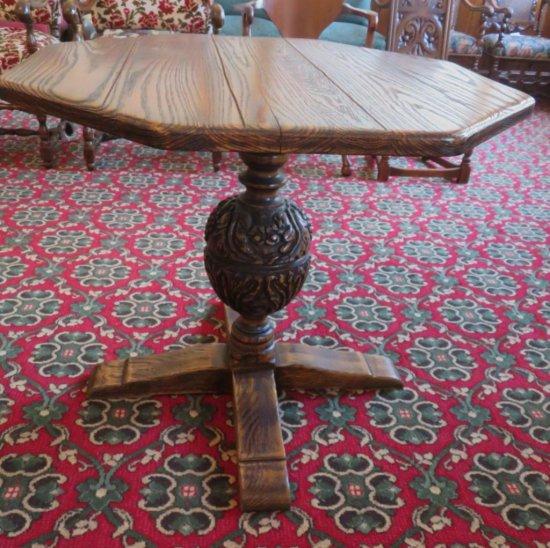 Fuedal Oak Jamestown Lounge Co Side Table