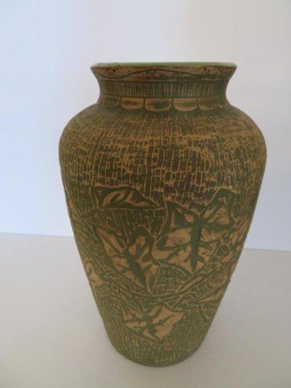 Redwing brushware vase