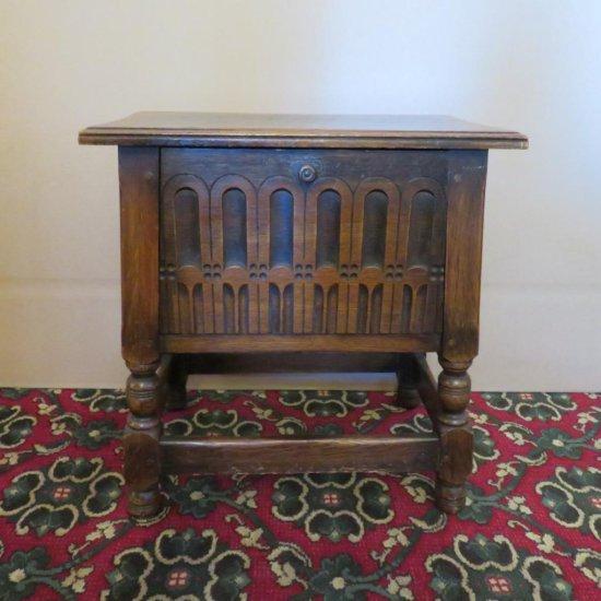 Kittinger Oak Drop front side table