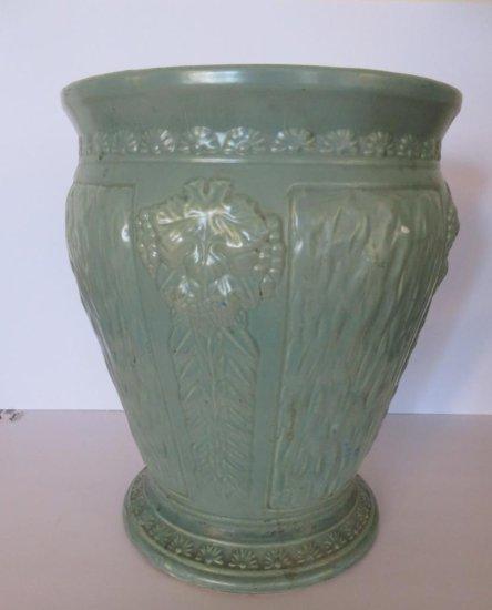 Stoneware sand jar urn