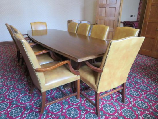 10' Conference Table and 10 chairs