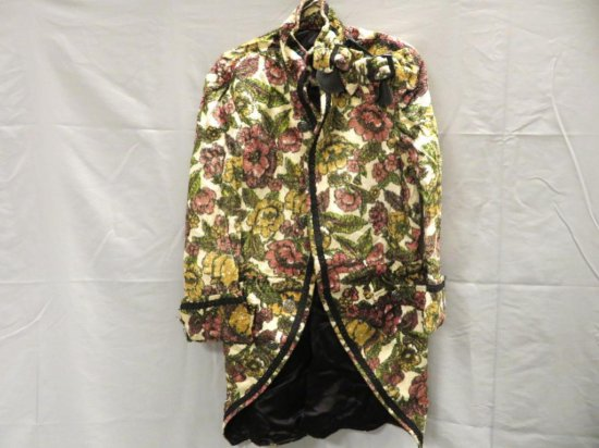 Regalia Tapestry coat and shoe buckles