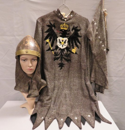 Three piece knight costume