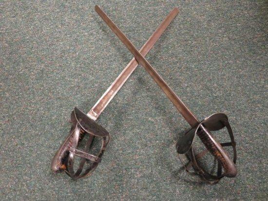 Two Combat swords