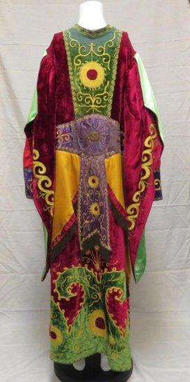Masonic Regalia Satin and Velvet Robe