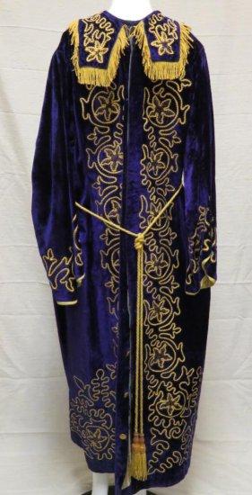 Purple Velvet Robe, King Solomon