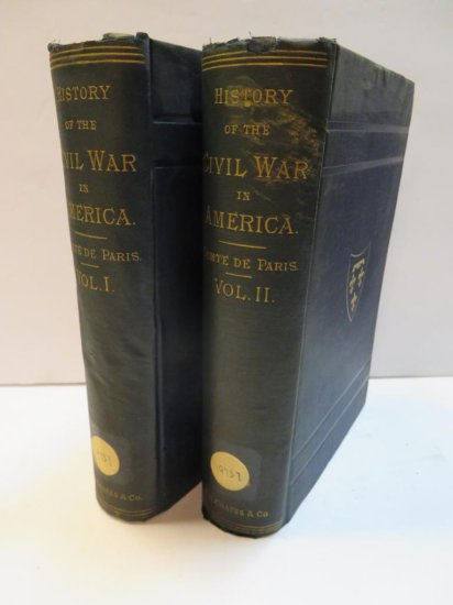 History of the Civil War in American Volumes 1 & 2 by Henry Coppee