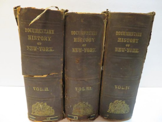 Documentary History of New York Volumes 2-4