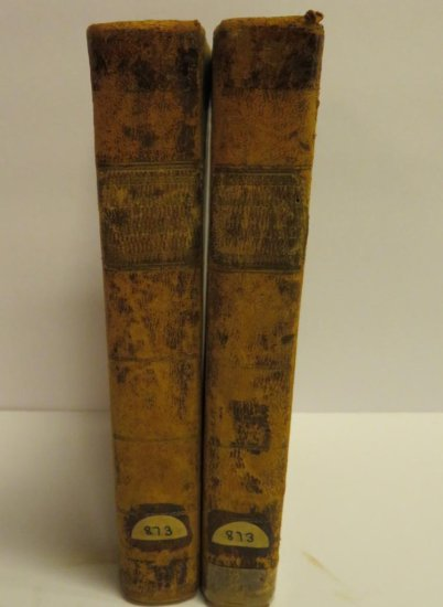 1811 Works of Virgil, Two Volume Set, 2nd American Ed