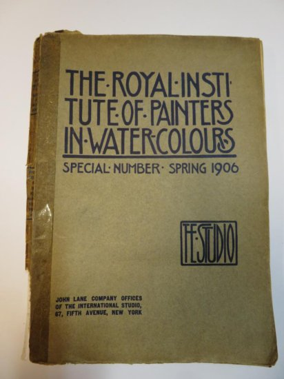 1906 Royal Institute of Painters in Watercolours