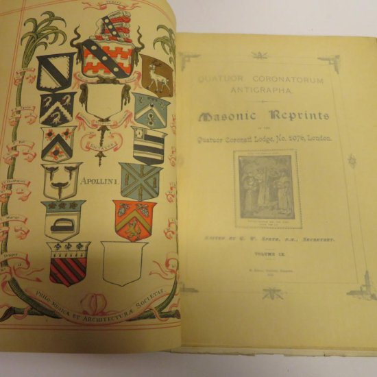 Masonic Reprints Lodge #2076 London Vol 9