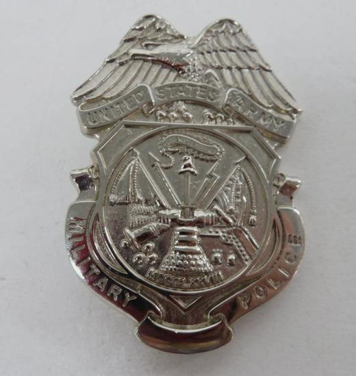United States Military Police Badge, 2 3/4""