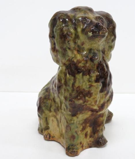Galena Pottery Poodle Dog
