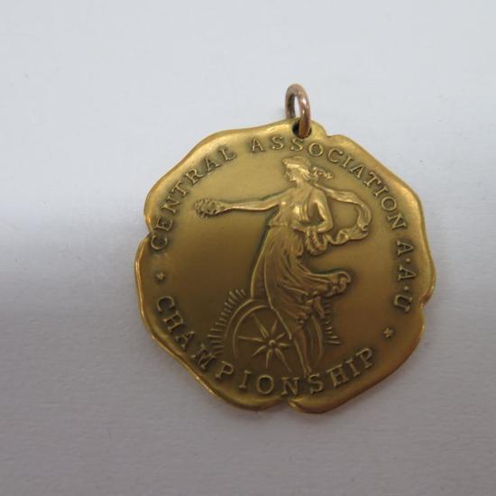 1929 Heavyweight Basketball 10K gold medal