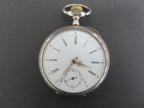 Tavannes Pocket Watch, 15 rubys, Ancre Ligne Droite, 517745
