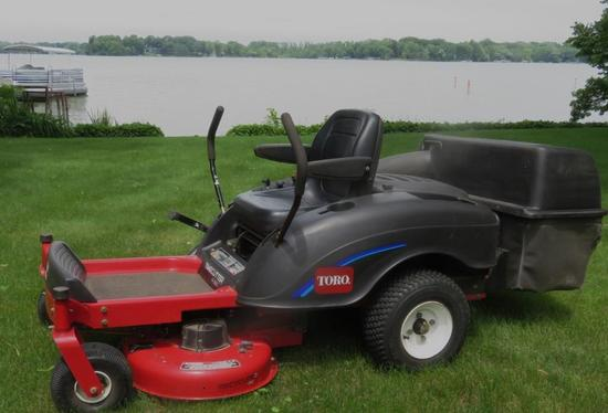 "Toro Zero Turn Timecutter 38"" cut mower"