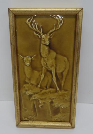 Craven Dunnvill & Co Deer Art Tile