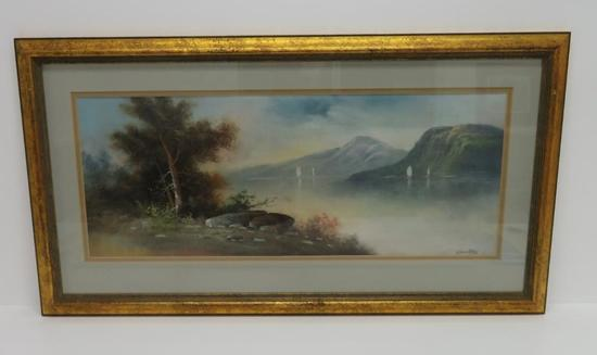 Chandler Pastel, landscape