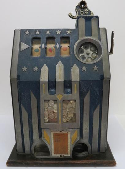 Comet Pace Slot Machine - 5 cent