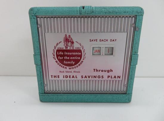 The Ideal Savings Plan Calendar Bank, Rock Island, Illinois