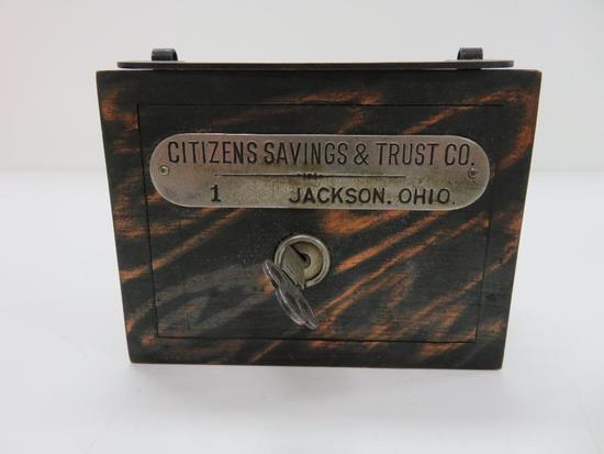 Citizens Savings & Trust Co., Jackson, Ohio Bank with key