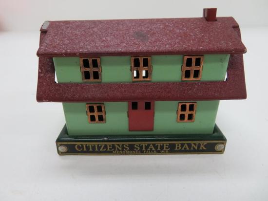 Citizen's State Bank, Menomonee Falls, Wis House Bank