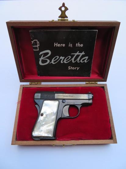 1953 Pearl Handled Beretta Bantam