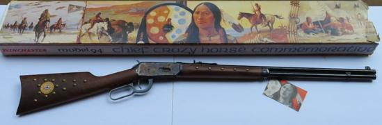 Winchester Model 94 Chief Crazy Horse with box