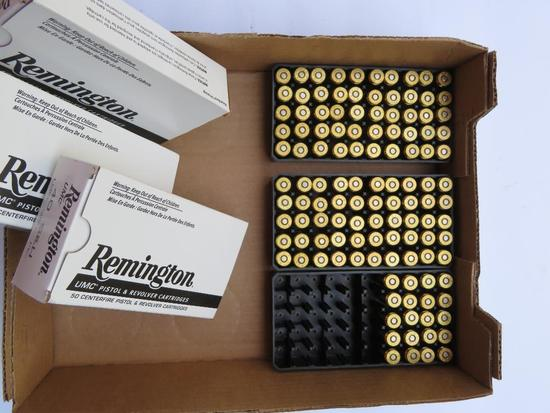 Remington UMC Pistol and Revolver Cartridges, 120 rounds