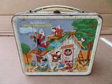 Walt Disney Mickey Mouse Club metal lunch box, c 1960's