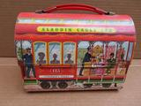 Aladdin 113 Cable Car metal dome top lunch box