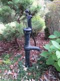 Antique metal hand well pump, 41