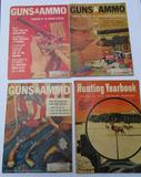 Guns & Ammo magazines and Hunting Yearbook
