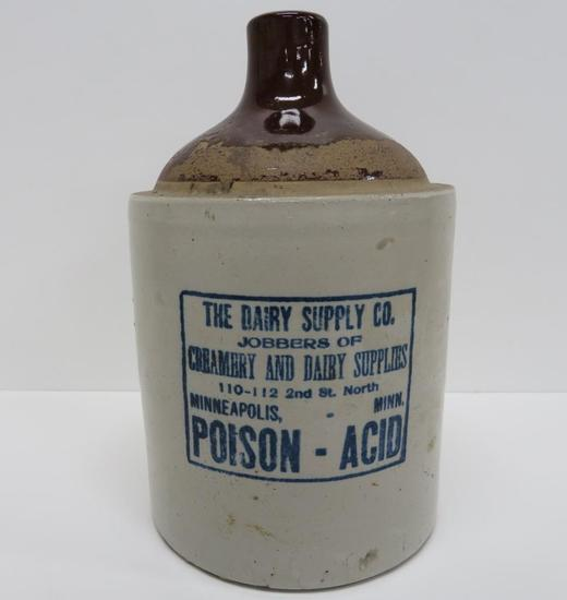 The Dairy Supply Co Poison Jug, 11""