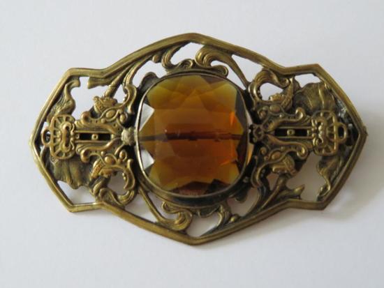 "Ornate brooch, 3"""