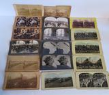 17 Military Stereoview cards