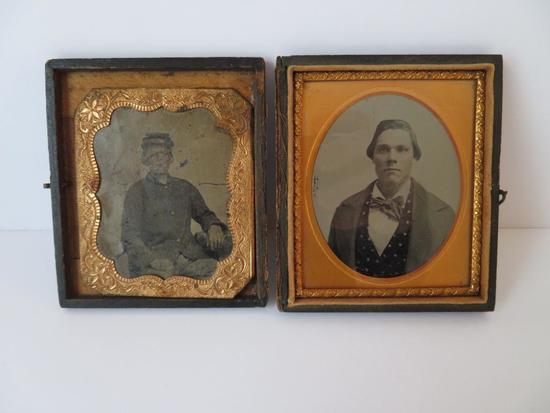 Civil War Daguerreotype, CW Woods, Newport News, July 1852