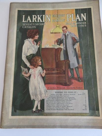 1914-1915 Larkin Catalog, great illustrations and ads