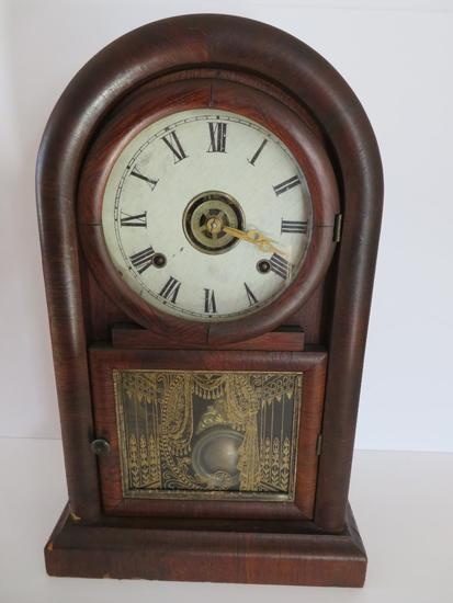 """Ansonia Eight Day Mantle Clock, 17"""""""
