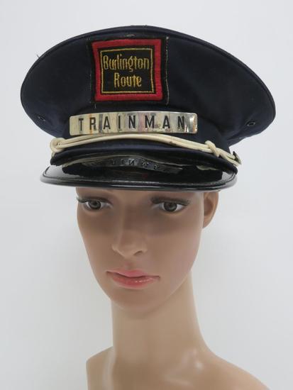 Burlingtone Route Trainman hat