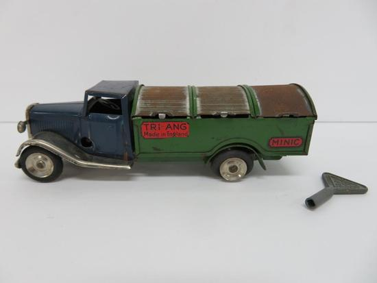 """Minic Tri-Ang Truck with key, 5 1/2"""""""