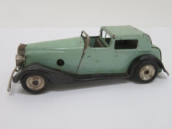 "Minic key wind Classic Car, no key with toy, 5"""