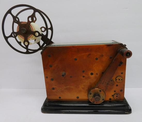 Fabulous Fire Alarm Telegraph Register - The Game Well Co 1909