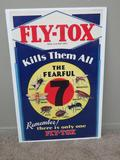 Fly-Tox Advertising Lithograph, 24