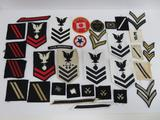 Large lot of US Military Patches, 37 pieces