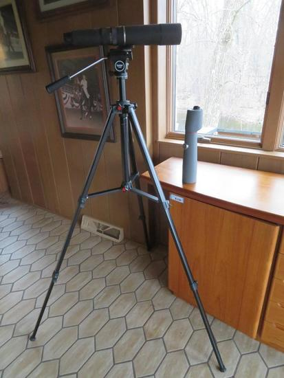 Bausch & Lomb 200mm/60mm telescope, The Discovery, with additional lens