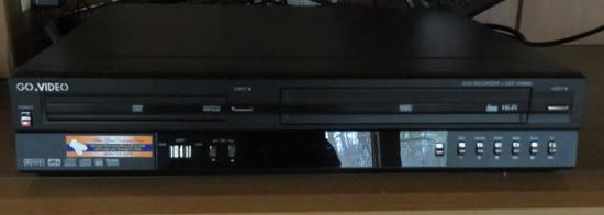 Go Video DVD recorder and VCR VR4940
