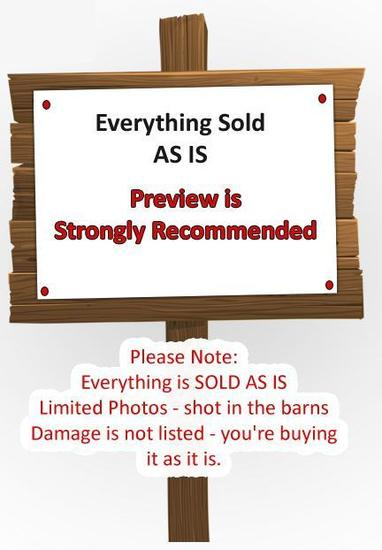 PLEASE NOTE - EVERYTHING SOLD AS IS
