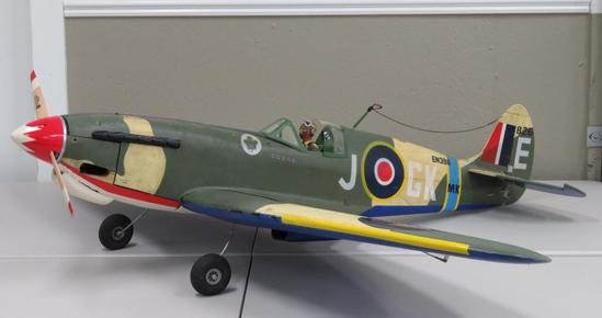 Awesome WWII Military Plane Model (large)